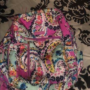 Vera Bradley Wildflower Paisley Backpack